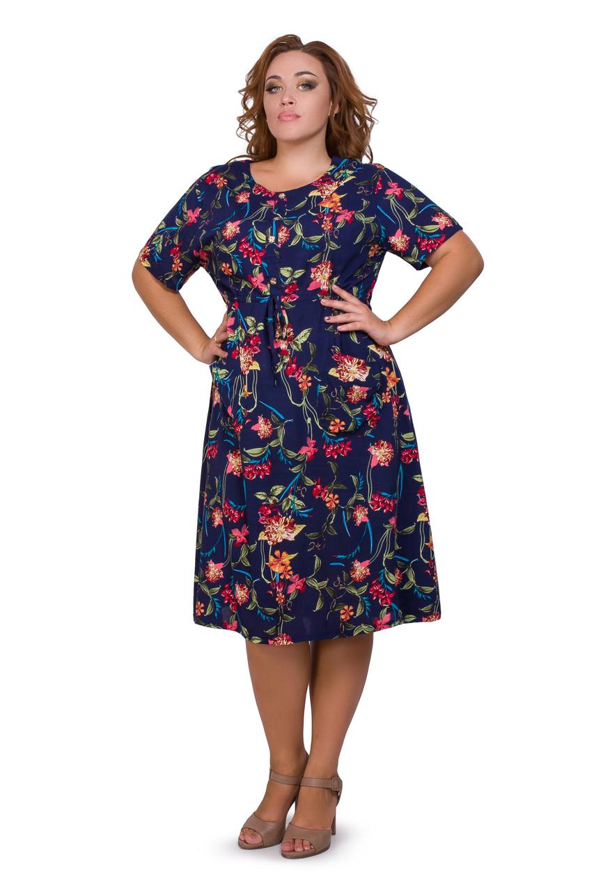 Женское летнее платье 1940-4