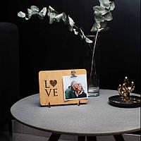 """Доска для фото с зажимом """"LOVE"""""""