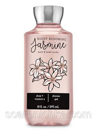 "Гель для душа Bath and Body Works ""Night blooming jasmine"", фото 2"