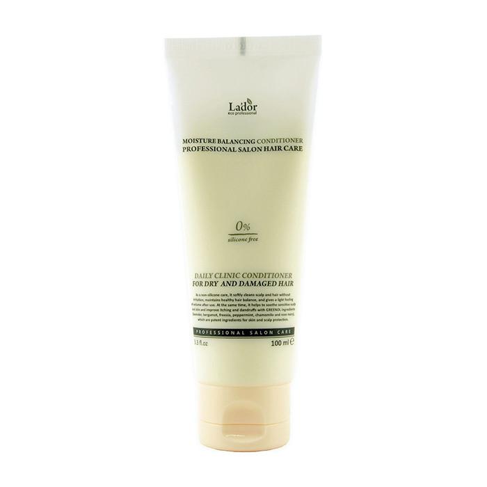 Безсиликоновый увлажняющий кондиционер для волос Lador moisture balancing conditioner Объем 100 мл