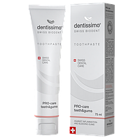 Зубная паста Dentissimo Pro-Care Teeth&Gums - эффективно помогает при воспалении и кровоточивости десен TP0001