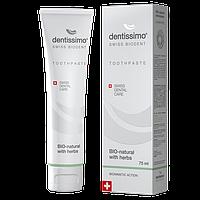 Зубная паста Dentissimo Bio-Natural With Herbs - Создана природой, разработана наукой! TP0005