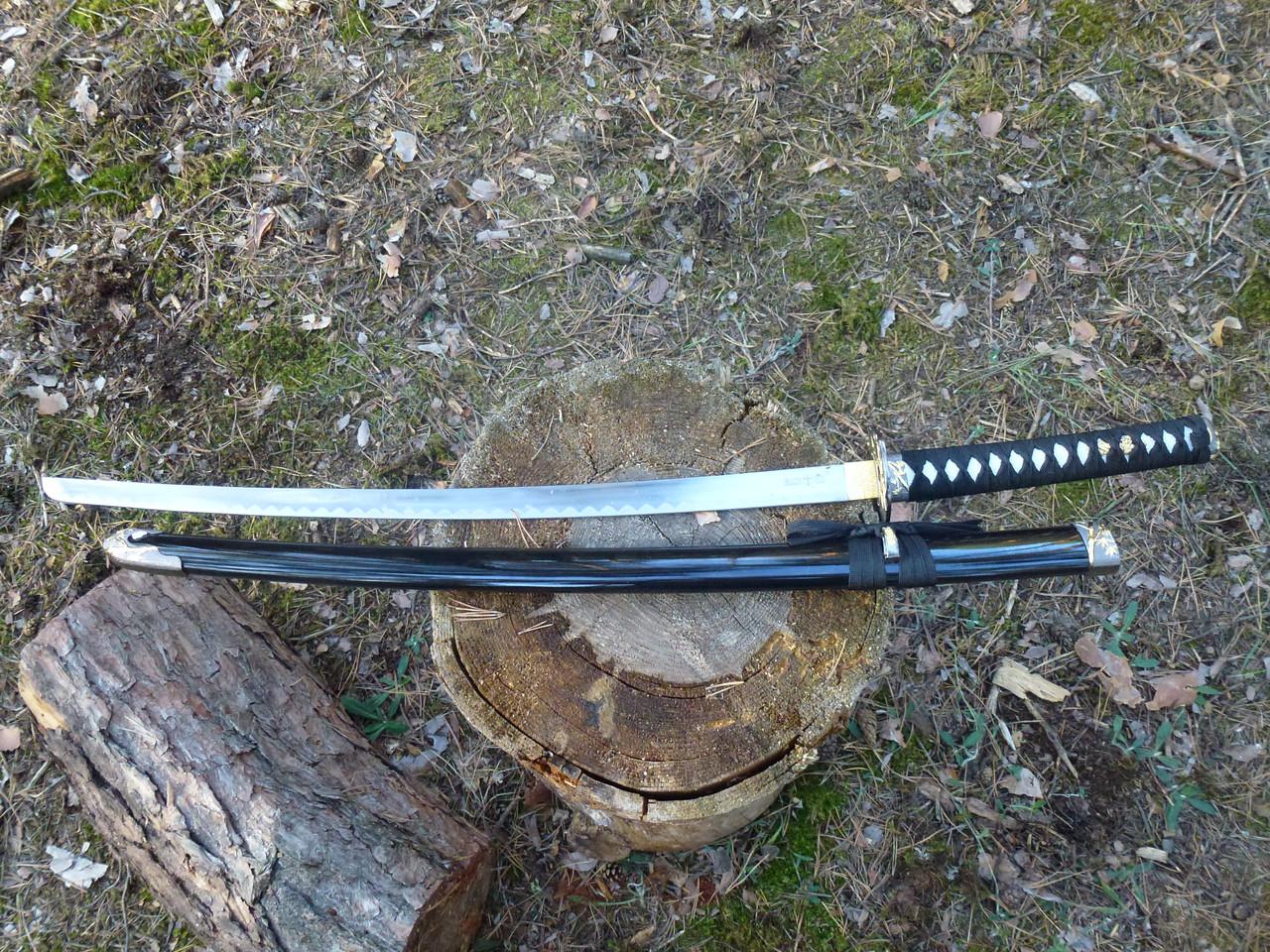 """Самурайский меч катана  """"сакура """" 100см"""
