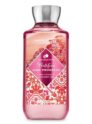 "Гель для душа Bath and Body Works ""Portofino pink prosecco"""
