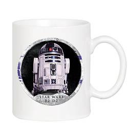 Кружка Geek Land белая Звёздные войны Star Wars R2 D2 SW.002.90