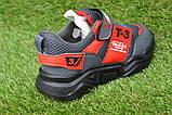 Стильные детские кроссовки Adidas T-3 Grey Rad р31-35, копия, фото 4