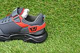 Стильные детские кроссовки Adidas T-3 Grey Rad р31-35, копия, фото 6