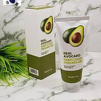 Пилинг-гель для лица с Авокадо FARM STAY Real Deep Clear Peeling Gel Avocado