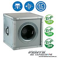 Вентс ВШ 400 ЕС. Шумоизолированный вентилятор с ЕС-мотором