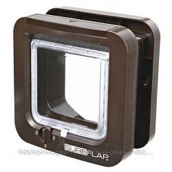 Дверца-автомат для маленьких пород собак и котов SureFlap Cat Flap с микрочипом Microchip (21 × 21 см)