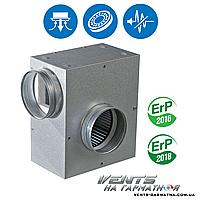 Вентс КСА 125 2Е. Шумоизолированный вентилятор с регулятором скорости и температуры, фото 1