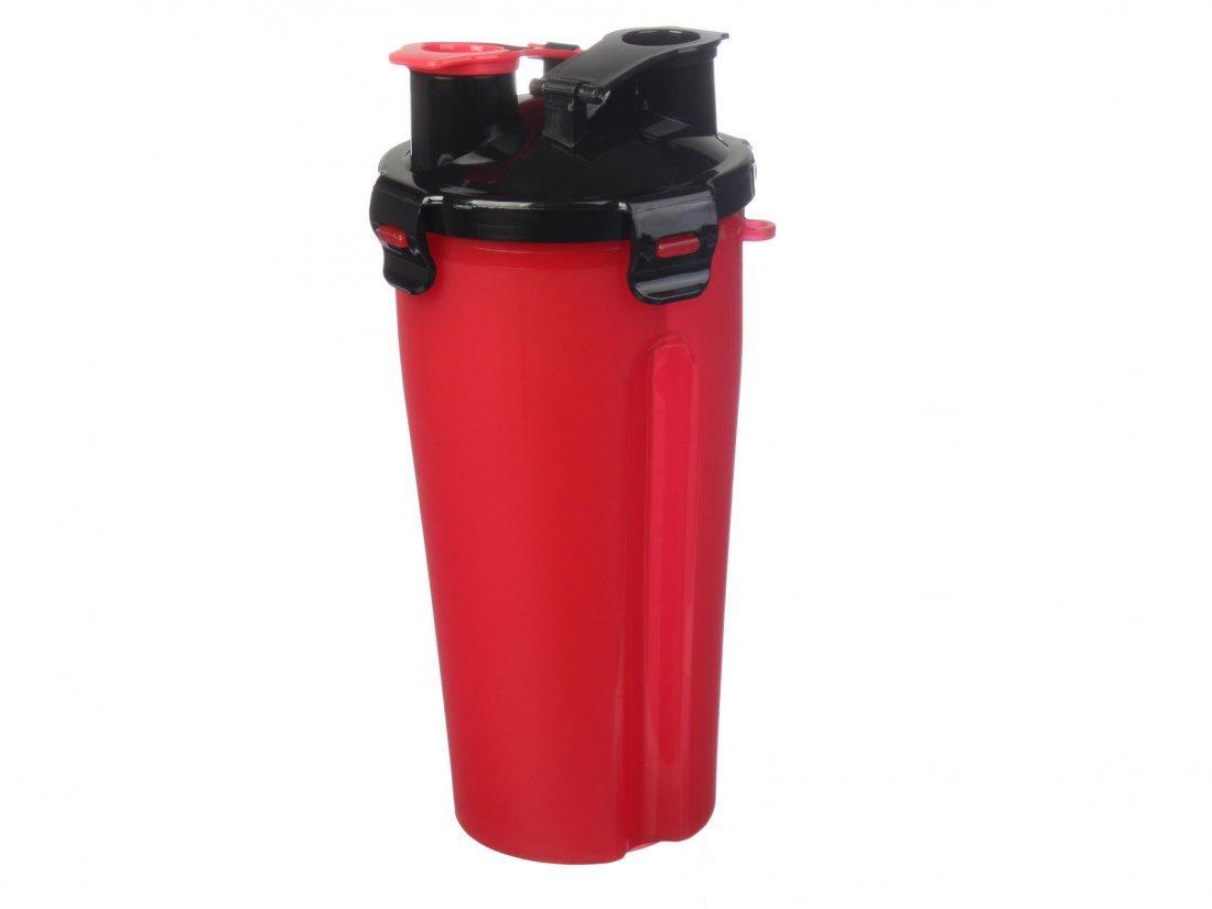 Бутылка спортивная пластиковая черная,синяя красная