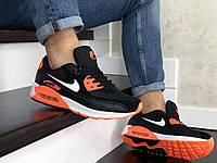 Мужские кроссовки  Nike Air Max 90    Пресс Кожа   Замша