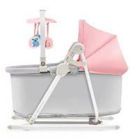 Шезлонг-качалка 5 в 1 Kinderkraft Unimo Pink, фото 3
