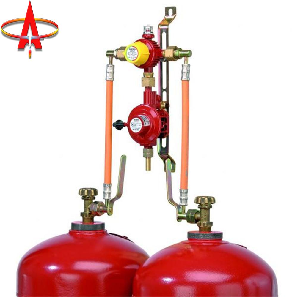 Рампа газовая 2 баллона GOK