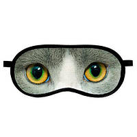 Маска для сна Глаза котика