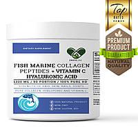 Морской коллаген 5330 мг. с гиалуроновой кислотой En`vie Lab 100% (3 месяца курс 90 порций) питьевой в порошке