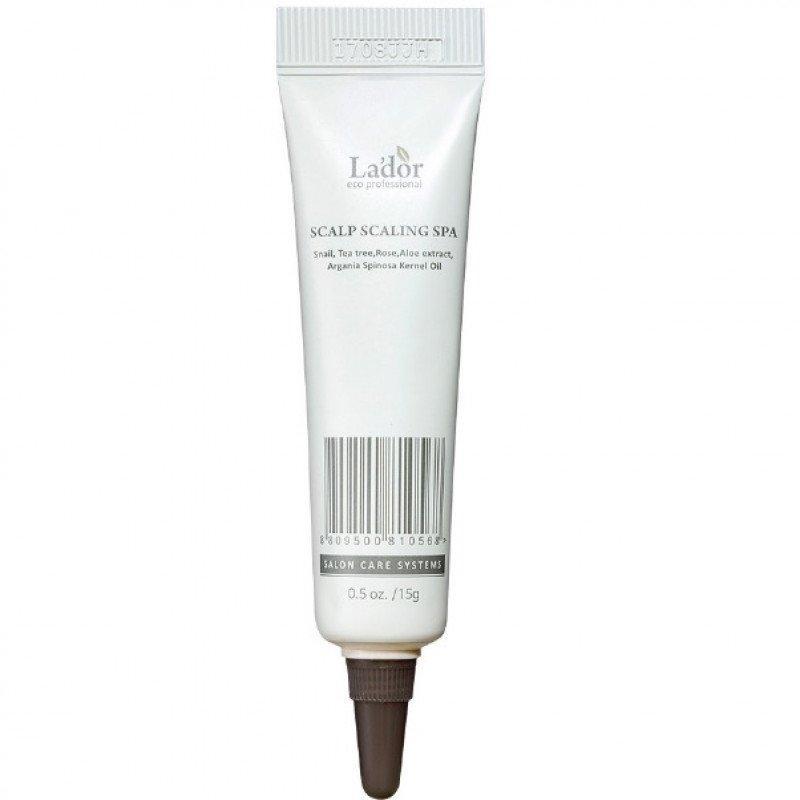 Сыворотка-пилинг для кожи головы Lador Scalp Scaling Spa Объем 15 мл