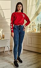 """Модные молодежные лосины из джинса """"варенки"""""""
