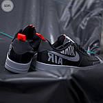 Чоловічі кросівки Nike Air Force '07 LV8 black/grey - 323PL, фото 4
