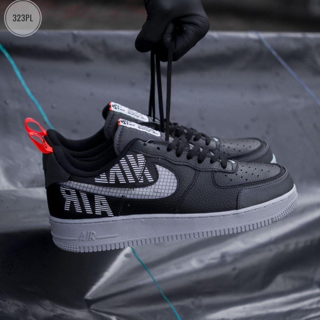 Чоловічі кросівки Nike Air Force '07 LV8 black/grey - 323PL