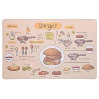 Коврик под тарелку Burger (IMP_31_1_BURG)