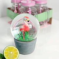 Шар с водой декоративный Фламинго, 13 см (IMP_22_4_BIG)
