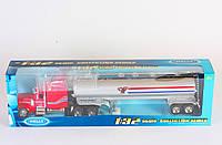Трейлер металлический 1:32 Peterbilt 379 Tractor Oil Tanker (39942W)
