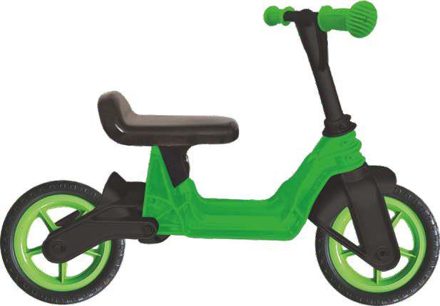 """Велобег Kinderway 10""""  Cosmo bike  Зеленый (11-014 ЗЕЛ)"""