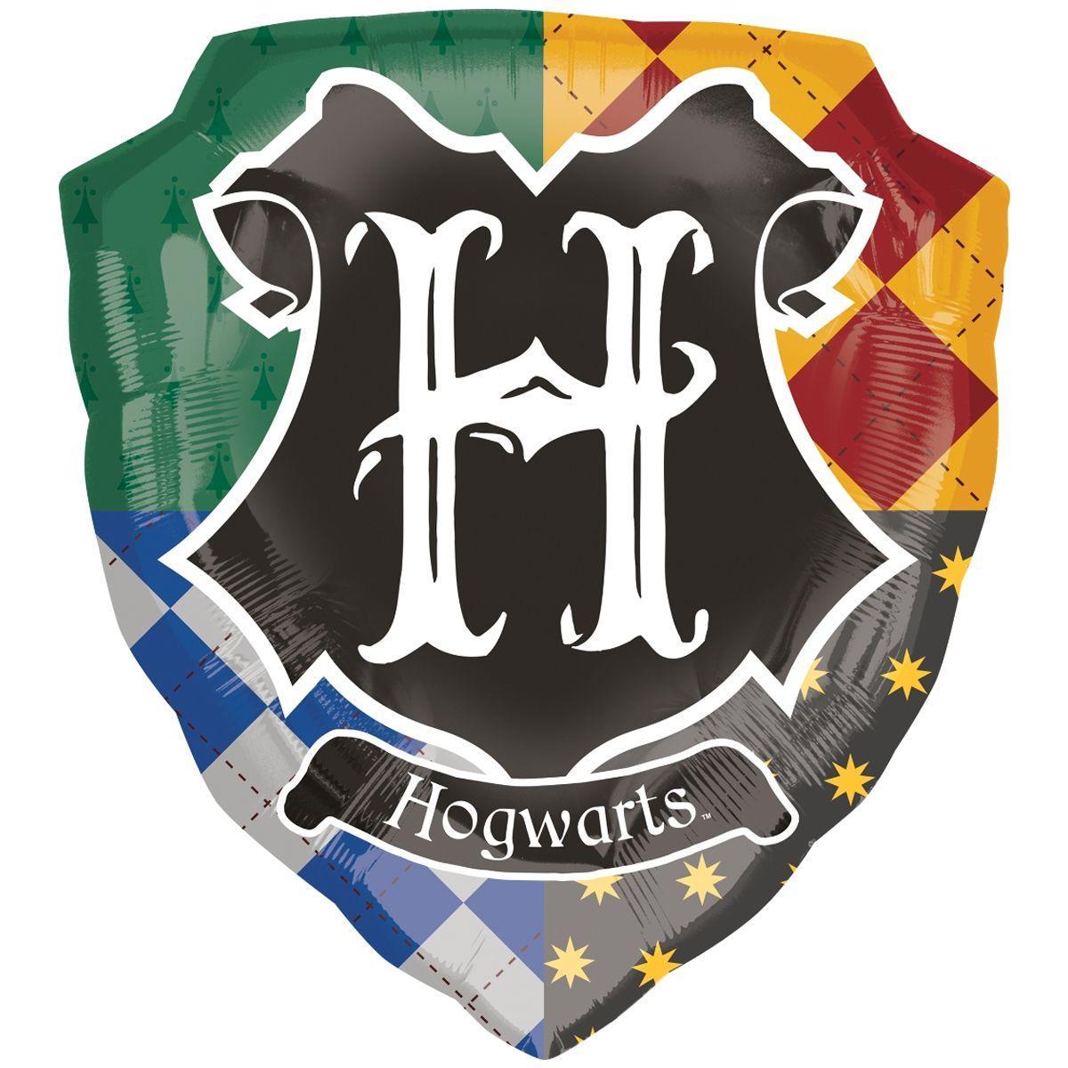 Фольгированный шар Гарри Поттер герб хогвартса, 68х63 см