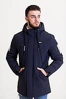 Весенняя мужская куртка темная (42-50рр)