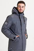 Весенняя мужская куртка светло-серая (42-50рр)