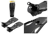 Ласты для плавания Intex Large Super Sport Fins (41-45) Черные (55635)