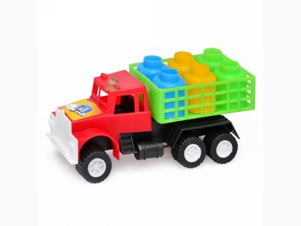 Машина Kinderway грузовик с бидонами (03-302)