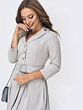 Платье-мини с рукавом три четверти и поясом в комплекте, фото 6