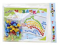 Игровой набор Kinderway Мозаика с круглыми фишками (30-016)