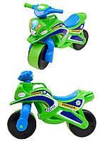Мотоцикл Doloni Байк Полиция музыкальный Зеленый (0139/52)