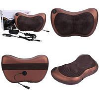 Роликовый массажер для спины и шеи Massage pillow (массажная подушка)