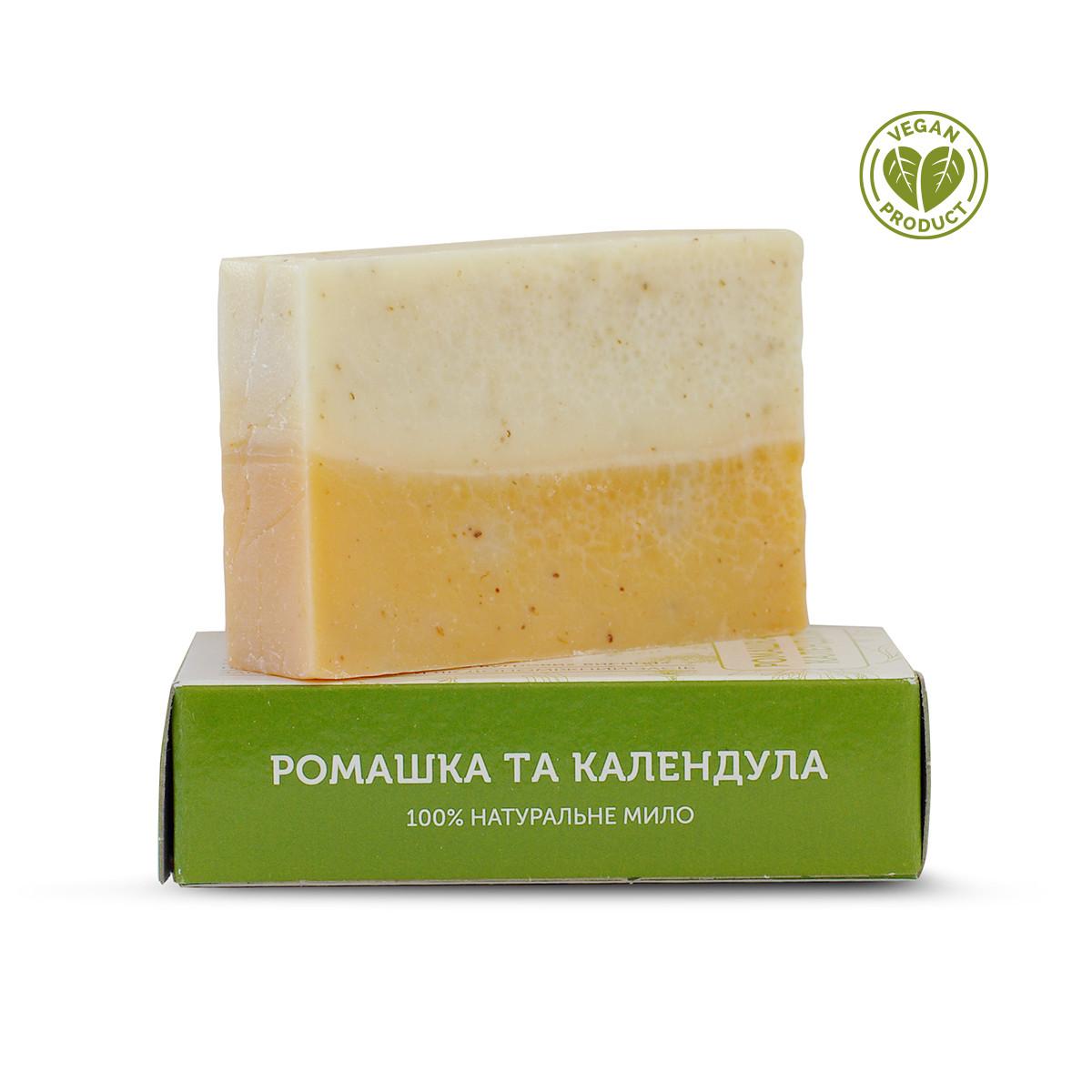 Натуральное мыло Ромашка и календула Яка 75 г