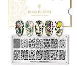 Пластина BORN PRETTY BP-Tropical punch -L001, фото 2