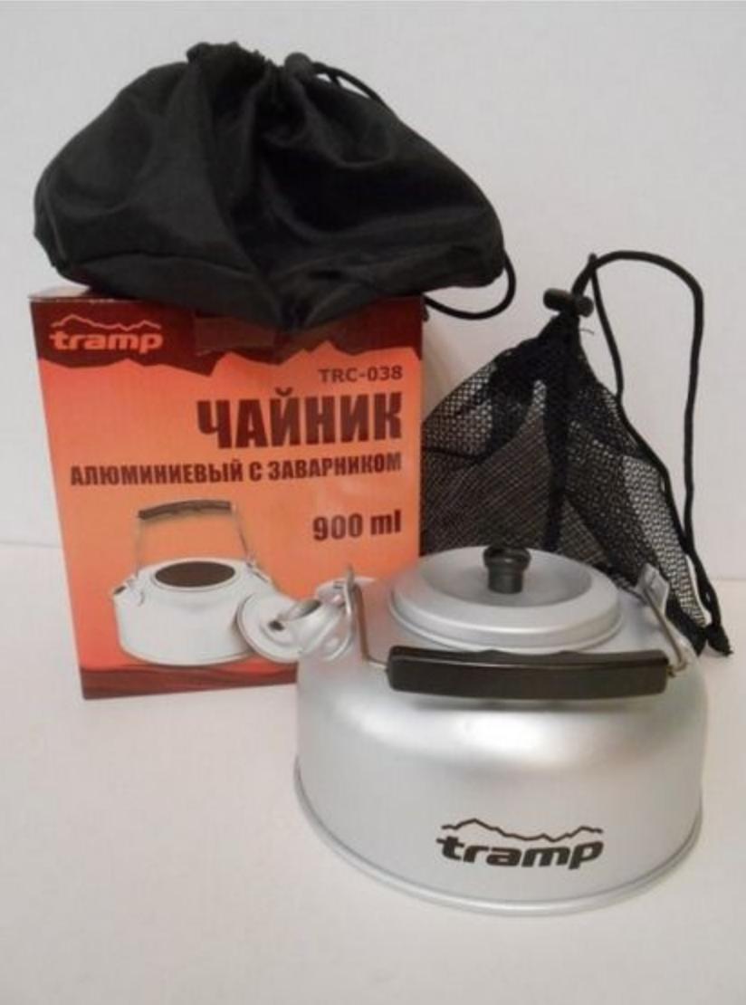 Чайник анодированный алюминий Tramp 0.9 л TRC-038