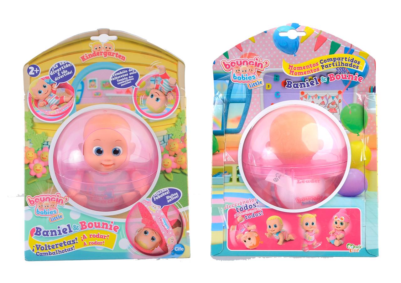 Пупс Baniel Bouncin Babies (802005)