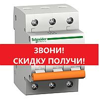 Автоматический выключатель Schneider-Electric трехполюсный 3P 10A C , 11222