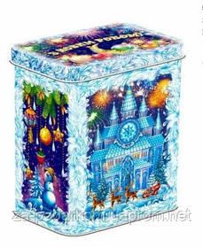 """Солодкий подарунок в жерстяній коробці """"Замок"""", 700г"""