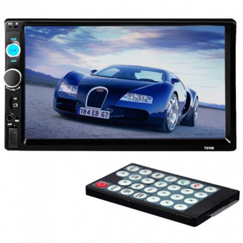 """Автомагнитола 7010B 2Din 7"""" Сенсорный Экран Bluetooth С Пультом Управления (Ml)"""