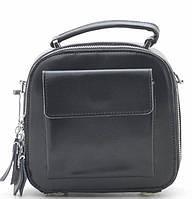 Женский кожаный клатч 92209 black кожаные сумки, кожаные клатчи оптом Одесса