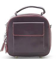 Женский кожаный клатч 92209 redbrown кожаные сумки, кожаные клатчи оптом Одесса