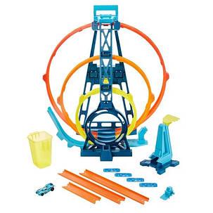 Трек Хот Вилс Тройная петля Гонки по вертикале Hot Wheels Track Builder Triple Loop, фото 2
