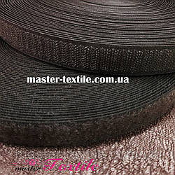 Липучка текстильная 25 мм, 25 метров (коричневая)