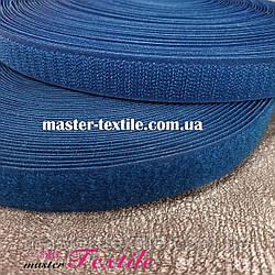 Липучка текстильная 25 мм, 25 метров (джинс)